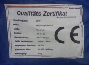 Půjčovna skákacího hradu - certifikát kvality